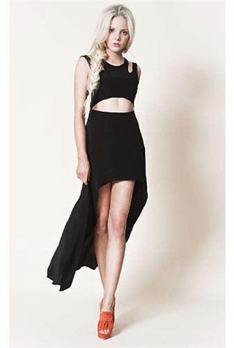 Finders Keepers Shake It Dress in Black