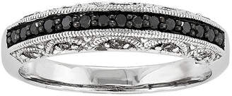 Black Diamond FINE JEWELRY 1/3 CT. T.W. White and Color-Enhanced Band