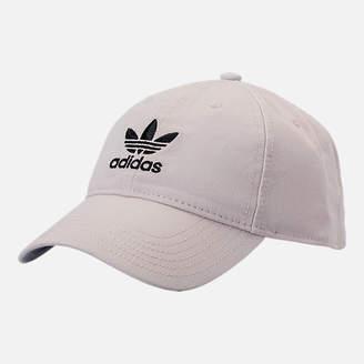 adidas Precurved Washed Strapback Hat