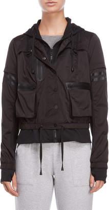 Blanc Noir Skyfall Bomber Jacket