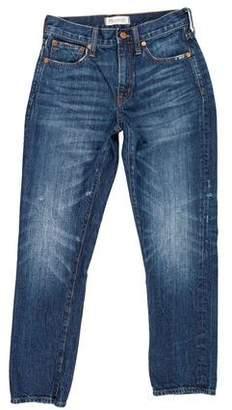 Madewell 2016 Mid-Rise Straight-Leg Jeans