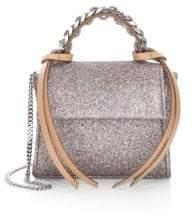 Elena Ghisellini Glittering Angel Top Handle Bag
