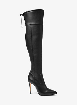 Michael Kors Jamie Stretch Over-The-Knee Stiletto Boot
