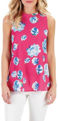 Mud Pie Pink Floral Swing Top $44.95 thestylecure.com