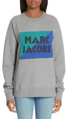 Marc Jacobs Logo Patch Sweatshirt