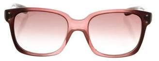 Bottega Veneta Gradient Square Sunglasses
