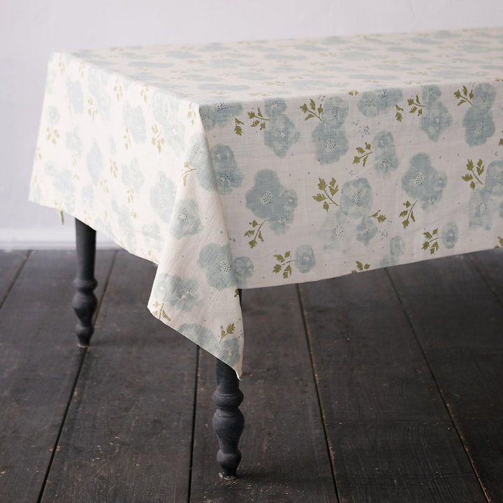 Cotton Poppy Tablecloth