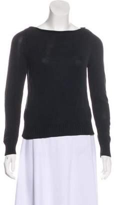 Lauren Ralph Lauren Silk Bateau Neck Sweater