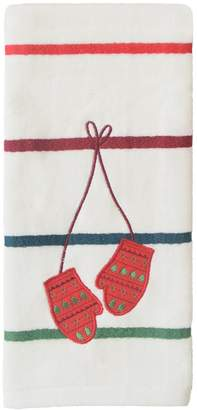 St Nicholas Square Through The Woods Mittens Hand Towel