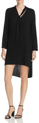 Ella Moss High Low Tie Neck Dress - 100% Exclusive $198 thestylecure.com