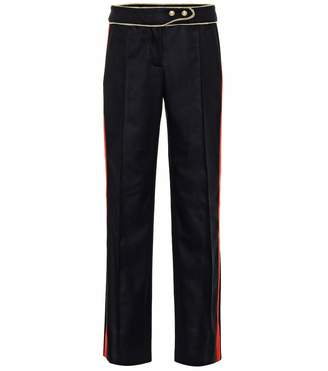 Paco Rabanne Embellished wool pants
