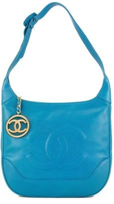Chanel Pre-Owned caviar skin big CC stitch one shoulder bag