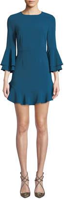 LIKELY Sammy Flouncy Mini Cocktail Dress