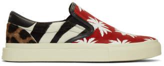 Amiri Multicolor Patchwork Sneakers