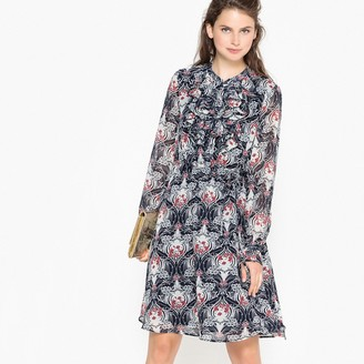 12ad720ab7e La Redoute COLLECTIONS Knee Length Floral Print Flared Dress