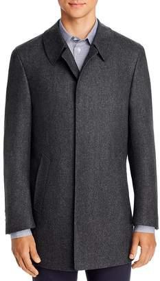 Canali Wool Classic Fit Car Coat