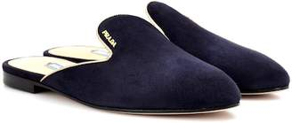 Prada Suede slippers