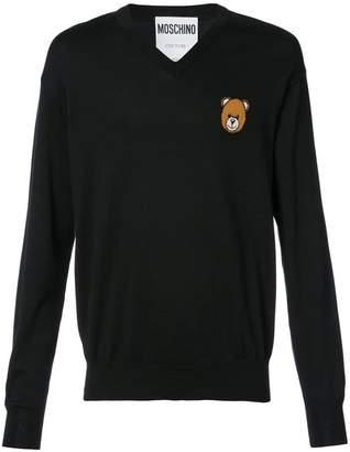 Moschino Teddy V-neck sweater