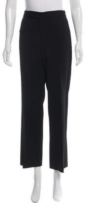 Ralph Lauren Black Label Wide-Leg Wool Pants
