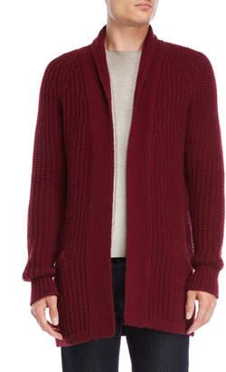 Avant Toi Shawl Collar Wool Cardigan