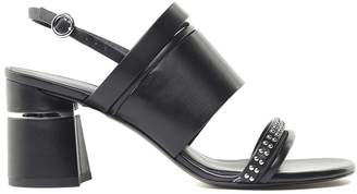 3.1 Phillip Lim Drum Multi Straps Leather Sandals
