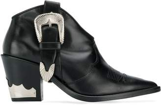 Toga Pulla western-style ankle boots