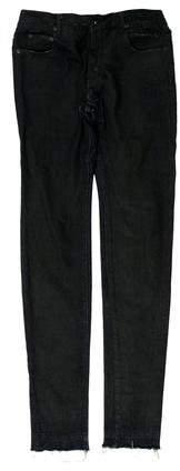Rick Owens Drkshdw Distressed Skinny Jeans