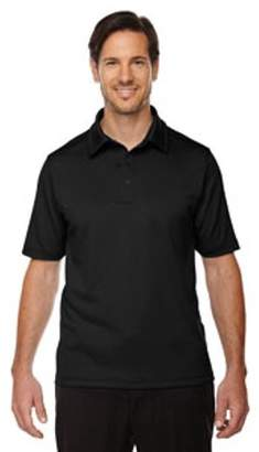Ash City - North End Sport Red Men's Exhilarate Coffee Charcoal Performance Polo with Back Pocket - BLACK 703 - 3XL 88803