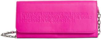 Calvin Klein Leather Wallet on a Chain