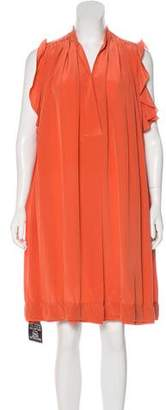 Chloé Silk Knee-Length Dress w/ Tags