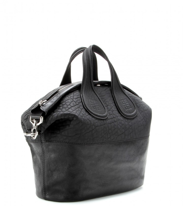 Givenchy Nightingale textured-leather tote