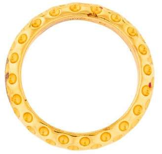 Hermes Gold-Plated Scarf Ring