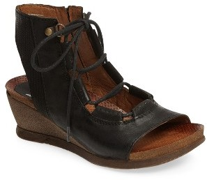 Women's Miz Mooz Satine Ghillie Wedge Sandal $149.95 thestylecure.com
