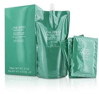 Shiseido The Hair Care Fuente Forte Circulist Treatment - Scalp Care (1x TM Gel 510ml + 12x TM Powder 10g)