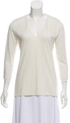 Akris Long Sleeve Knit Top