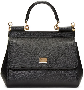 Dolce & Gabbana Black Small Miss Sicily Bag $1,395 thestylecure.com