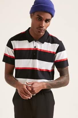 Forever 21 Stripe Polo Shirt