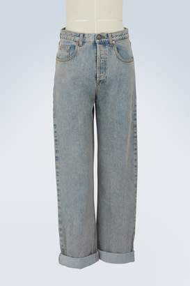 Gucci 80s stone-washed jeans