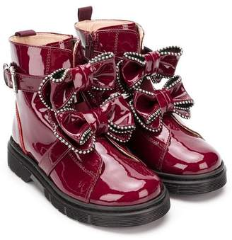 Florens patent leather boots