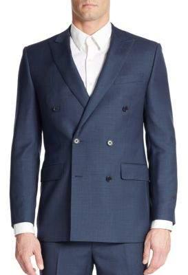 Tallia Orange Slim-Fit Wool Suit Separate Jacket