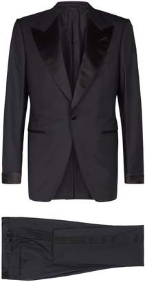 Tom Ford Shelton Satin Trim Two-Piece Suit