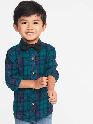 Old Navy Dressy Shirt & Bow-Tie Set for Toddler Boys
