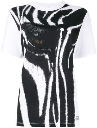Opening Ceremony zebra print short-sleeve T-shirt