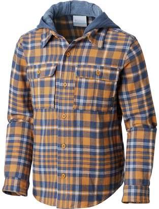 Columbia Boulder Ridge Flannel Hooded Shirt - Long-Sleeve - Boys'