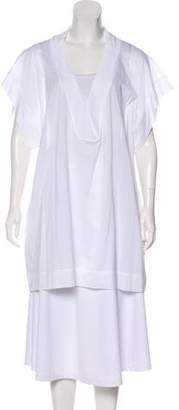 Eres Short Sleeve V-Neck Tunic