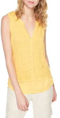 Women's Sanctuary City Linen Knit Tank $44 thestylecure.com