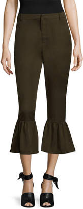 Lucca Couture Amber Trumpet Crop Pant