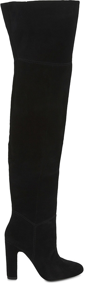 Aldo Aldo Nakina suede over-the-knee boots