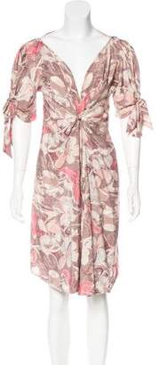 Bottega Veneta Printed Knee-Length Dress