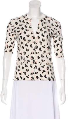 Marc by Marc Jacobs Printed Knit Cardigan